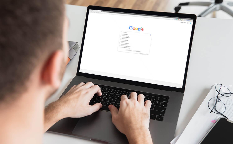 Browsing Google Chrome