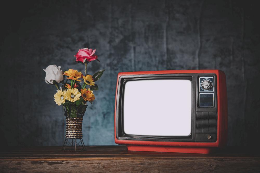 الشاشة التلفزيونية